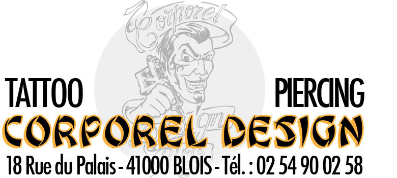 CORPOREL DESIGN BLOIS TATOUAGE TATTOO PIERCING