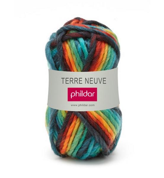 grosse laine tricoter phildar laine terre neuve coloris. Black Bedroom Furniture Sets. Home Design Ideas