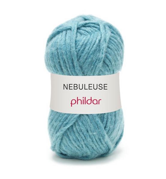 grosse laine laine nebuleuse de phildar coloris celadon laine tricoter pelotes fils et. Black Bedroom Furniture Sets. Home Design Ideas